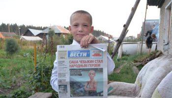 12-летний мальчишка вытащил маленького щенка из затопленной ливневки