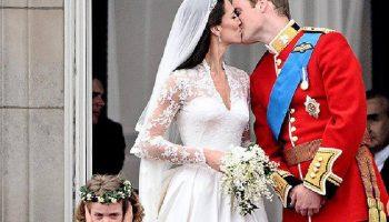 Редкие фото проявлений чувств принца Уильяма и Кейт Миддлтон