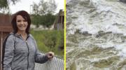 Американка чудом выловила коляску с 2-х летним ребенком, из бурлящего канала