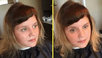 Парикмахер из провинциального городка до неузнаваемости изменил внешность девушки