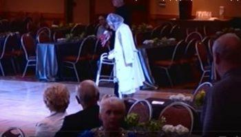 Шикарный танец 94-летней танцовщицы Матильды Кляйн: танцевала словно в 20 лет
