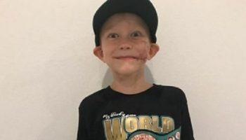 Шестилетний Бриджер Уокер получил чемпионский пояс WBC и титул «Самого смелого человека»