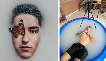 Фотограф из Мексики создает крутые фото буквально из ничего, откровенно показывая их обратную сторону