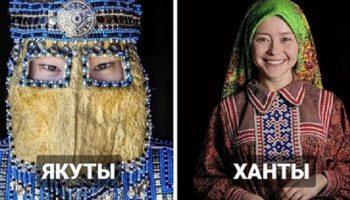 Удивительные снимки коренных народов Сибири в традиционных костюмах