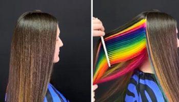 Волшебные работы питерского мастера: окрашивание волос за гранью фантастики: