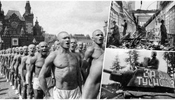 Уникальная подборка исторических фото о тяжких поражениях и великих свершениях, о людях и их делах