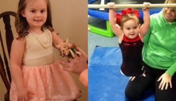 Безногая 8-летняя девочка стала гимнасткой, удивив всех