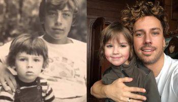 Фото звезд и их деток в одном возрасте