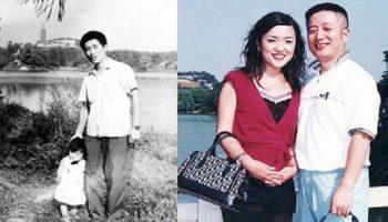 Китаец вот уже целых 40 лет придерживается традиции, фотографируясь с дочкой на одном и том же месте