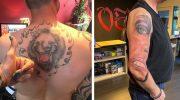 Героям этой подборки очень сильно не повезло заиметь крутую татуировку