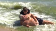 15-летний школьник спас жизнь мужчине, который потерял сознание в море