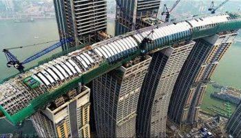 Китай — впереди планеты всей! Первый в мире горизонтальный небоскреб