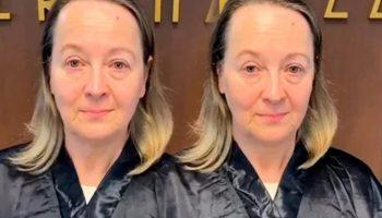 Мастер решил кардинально изменить женщину за 50, которая всего лишь пришла «подкрасить корни»