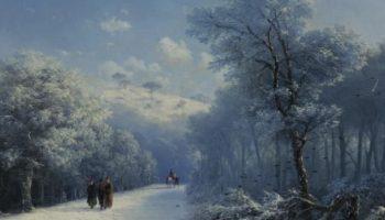 Завораживающие зимние пейзажи прославленного мариниста, Ивана Айвазовского