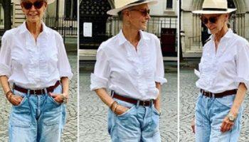 Жительница Парижа Линда Райт не боится старости и одевается так, чтобы выглядеть превосходно