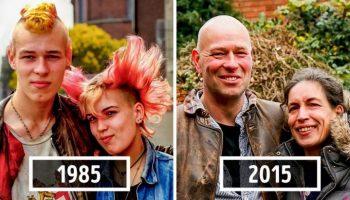 Уникальный проект британского фотографа, который выслеживал незнакомцев, чтобы воссоздать фотографии 40-летней давности