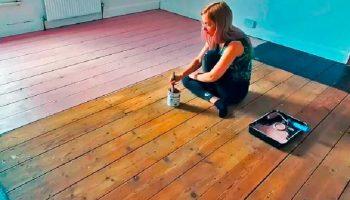 В роскошную комнату превратила колхозную гостиную девушка-блогер за 6 дней