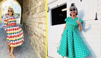 Сюзи Грант из Англии, в свои 70 лет, научилась одеваться лучше молодых