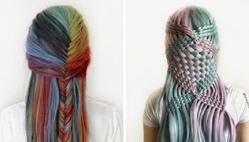 В произведения искусства превращает волосы 17-летней парикмахер-самоучка из Германии