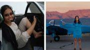 У Джессики от рождения нет рук, но она водит авто и самолет!
