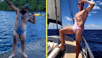 Новую мужскую модель купальников придумали два друга