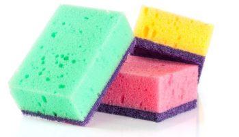 Знаете ли вы, почему губки для мытья посуды выпускают разного цвета