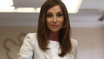 В день своего 56-летия, первая леди Азербайджана впечатлила выходом в свет