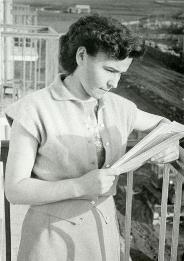 Наина Ельцина в молодости. / Фото: www.znak.com