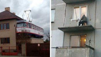 20 ну очень странных балконов, мимо которых вы бы не только не прошли, но еще бы и друзьям рассказали