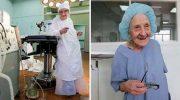 В свои 91 года, она продолжает делать по 4 операции в день: самый опытный хирург в мире