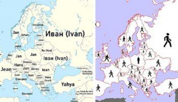С непривычных сторон раскрывают мир эти необычные 16 карт