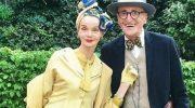 Своими модными нарядами прославилась пожилая пара из Германии