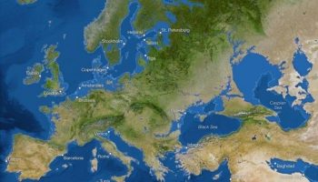 Как же будет выглядеть наша планета, когда растают все ледники
