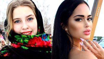 10 очень разных фото девушек с естественной красотой и инстаграмных красоток