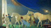 Когда я была подростком, мы стояли в очереди с отцом, чтобы купить билеты в цирк