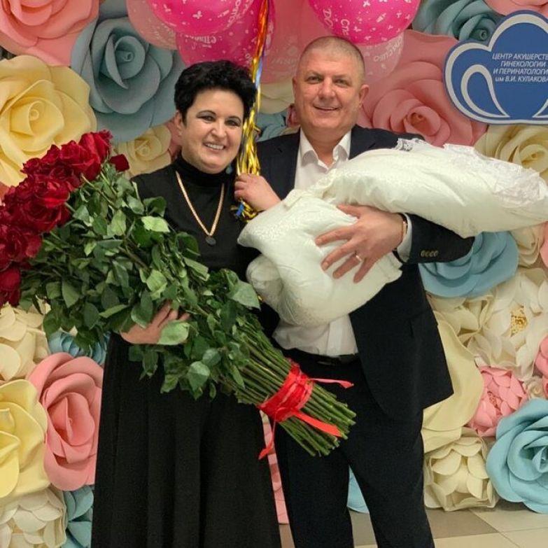 Елена Голунова с дочерью
