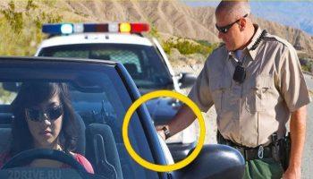 Почему в США сразу после остановки, полицейские прикасаются к машине нарушителя рукой