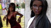 Мир покорила темнокожая модель с кукольной внешностью