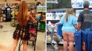 В американский супермаркет Walmart эти люди пришли просто за покупками