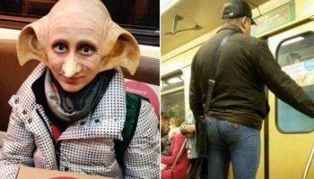 Глядя на этих 20 эксцентричных пассажиров метро, не понимаешь: ты попал в сказку или в ад