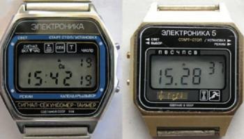 Легендарные часы «Электроника». Интересные факты