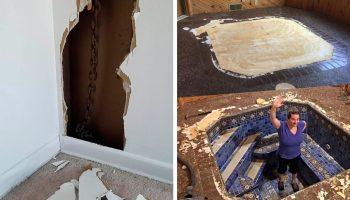 14 самых неожиданных сюрпризов, которые ожидали строителей во время ремонтных работ