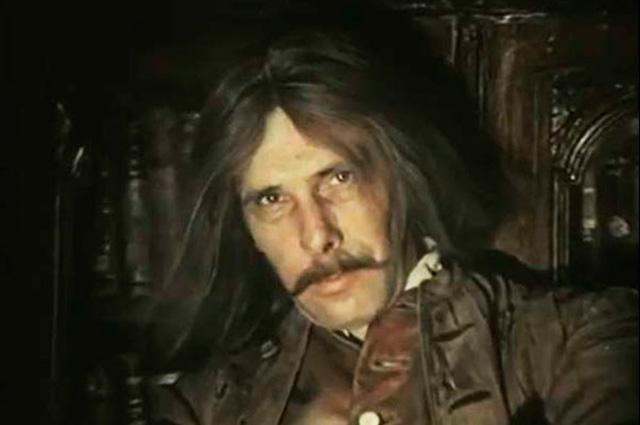 Андрей Болтнев в фильме «Михайло Ломоносов»., 1984-1986 гг.