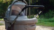 Вдруг, возле лавочки я заметила детскую коляску… Людей в парке почти не было
