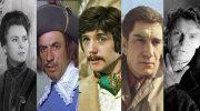 По количеству сыгранных ролей, эти актеры СССР, воистину рекордсмены! От 150 до 300 ролей!