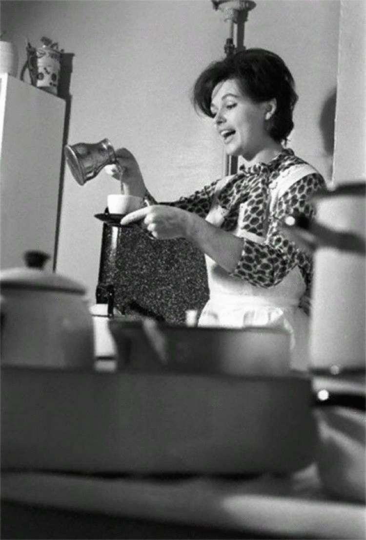 Редкие фото наших любимых артисток, готовящих на своих кухнях в домашней обстановке