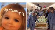 Умирая, двухлетняя Коралин Соболик, спасла жизни троих человек