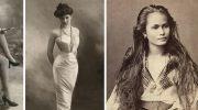 Уникальная подборка самых красивых женщин прошлого века