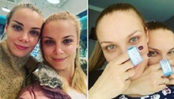 Актрисы сестры Арнтгольц стали мамами с разницей в 18 дней
