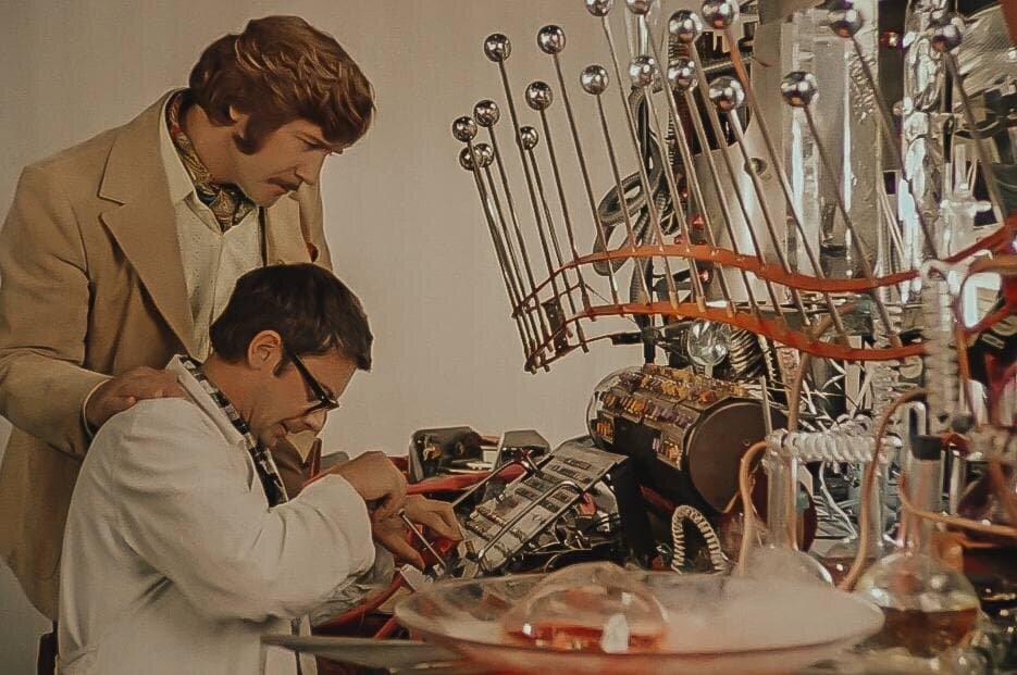 Кадр из фильма «Иван Васильевич меняет профессию», 1973